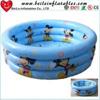Wholesale DIY size 3 rings inflatable baby swim pool air bath tube from china suppliers