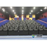 Quality Exciting Simulating Luxury Cabin Box 5D Cinema System With Fiber Glass Material for sale