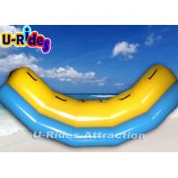 Wholesale 2.5M Length Inflatable Seesaw Yellow  Inflatable Teeterboard For Adults from china suppliers