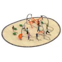 China 870*800*250cm Rope Play Equipment , Climbing Play Equipment For Younger Kids TQ-TN502 on sale