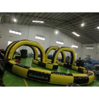 Wholesale factory price inflatable sport game,inflatable car track for sale SPG007 from china suppliers