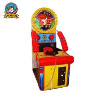 Wholesale Relax  Ticket Redemption Arcade Games Test Players Strength With Two Gloves from china suppliers
