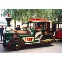 Wholesale Fantastic Electric Amusement Park Trains For Disney Theme Park , 40 Persons from china suppliers