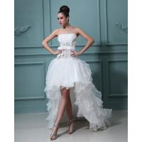 Wholesale Beautiful halter tulle short long Wedding Dresses Gowns for Bridal from china suppliers