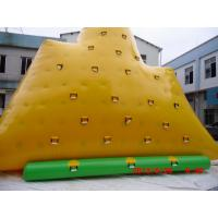 Wholesale Yellow 0.9 mm Commercial Grade  PVC tarpaulin Inflatable Iceberg YHIB 003 from china suppliers