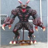Wholesale Vidid Theme Park Decoration Monster Custom Fiber Glass Statues , Life-Size from china suppliers