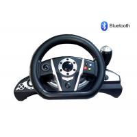 Bluetooth PC / PS3 Racing Video Game Steering Wheel With Rubber Hand Grip