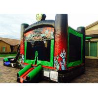 China Outdoor Halloween Decorations Inflatable Bouncer PVC Tarpaulin For Kids Playground on sale