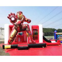 Wholesale OEM Iron Man Ultimate Combo Inflatable Bounce House 5Lx4Wx3.5H Meter from china suppliers