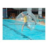 Wholesale Transparent TPU / PVC Inflatable Water Walking Ball For Adults , Water Bubble Ball from china suppliers