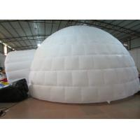 China Digital Printing Trading Blow Up Dome Ten , Customized Inflatable Igloo Tent on sale