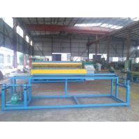 Wholesale Welded Roll Wire Mesh Making Machine , Wire Mesh Fencing Machine For Construction from china suppliers