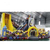 Wholesale Robot Slide Inside Inflatable Bouncer Enough Zipper Outlets Deflate Quickly For Children from china suppliers