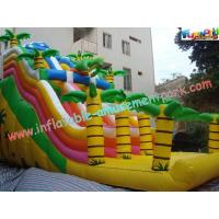 Wholesale PVC Tarpaulin Giant Dinosaur PVC Dry Commercial Inflatable Slide With Customised from china suppliers