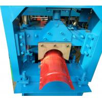 Wholesale 3KW Ridge Cap Roll Forming Machine For Color Steel Sheet , 0.3-0.6mm Thickness from china suppliers