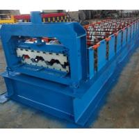 Wholesale 15KW Floor Deck Roll Forming Machine For Metal Structural Building Construction from china suppliers