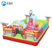 Wholesale Unicorn Pattern Kids Inflatable Bounce Castle Customized Size Waterproof from china suppliers