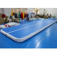 Wholesale Flexible Inflatable Air Track Gymnastic Blue Surface Mattress For Sport from china suppliers