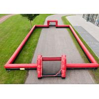 Wholesale Outdoor Interactive Inflatable Sports Toys 0.55mm PVC Football Arena Playground from china suppliers