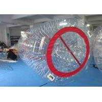 Wholesale Backyard Inflatable Kids Toys / Waterproof Inflatable Water Wheel Ball from china suppliers