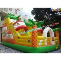 Wholesale Customised 18OZ PVC Elephant Commercial Inflatable Slides For Amusement Parks 8 x 5 x 6M from china suppliers