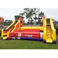 Quality Interactive Giant Inflatable Battle Zone Jousting Game Arena 10 X 8.5 X 5 M for sale