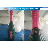 Good Quality OEM PVC Inflatable Champagne Bottle For Advertising