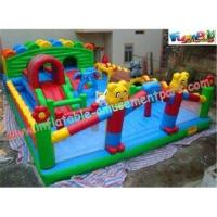 Buy cheap Durable Inflatable Amusement Park with Waterproof 0.55mm PVC Tarpaulin for home from wholesalers