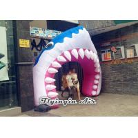 Wholesale Full Printing Inflatable Entrance, Inflatable Shark Arch for Events from china suppliers