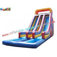 Wholesale Custom SUMMER Amusement Park Outdoor Adult Water Inflatable Slide 14L x 5.5W x 7H Meter from china suppliers