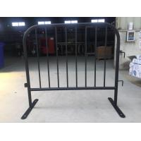 Wholesale 8 Bar Crowd Control Barriers For Belgium 35 mm pipes with a 1.50mm thick finished by fully hot dipped galvanized from china suppliers