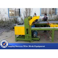Wholesale Easy Operation Wire Fencing Machine , Chicken Mesh Making Machine 30 Times / Min from china suppliers