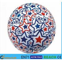 China Light Up Inflatable Beach Balls,PVC 16 Inch Beach Ball With Lively Printing on sale