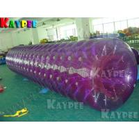 Wholesale Long Water roller Color roller water game Aqua fun park water zone KZB010 from china suppliers