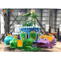 Buy cheap Kids Amusement Park Ride 12 Seat Indoor Playground Frog Jumping Rides from wholesalers
