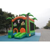Wholesale Fire - Retardant Frozen Inflatable Bounce House 1000d For Baby from china suppliers