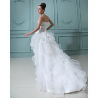 Quality Beautiful halter tulle short long Wedding Dresses Gowns for Bridal for sale
