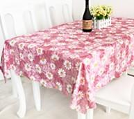 Wholesale Rectangular PVC Table Cloths Cover from china suppliers