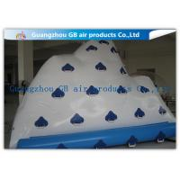 Wholesale White Floating Iceberg Inflatable Water Toy For Water Sports Climbing from china suppliers