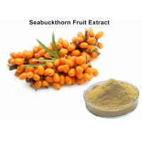 Wholesale Antioxidant Fruit Extract Powder 1% Total Flavonoids Seabuckthorn Extract Powder from china suppliers