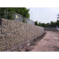 Wholesale Simple Installation Gabion Wall Baskets 80 X 100M Wire Dia 3.05mm / 3.8mm / 2.2mm from china suppliers