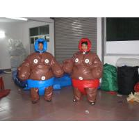 Wholesale 0.45 mm PVC Inflatable Sport Games Sumo Suits YHSG-009 with mat for Wrestling from china suppliers