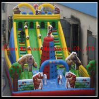 Wholesale Latest & Durable Customzied PVC inflatable bouncer slide from china suppliers