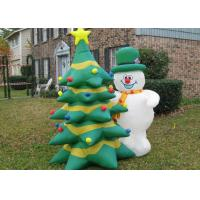 Wholesale PVC Inflatable Advertising Products Inflatable Christmas Snowman / Trees from china suppliers