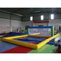 China Enjoyable Inflatable Sports Games , Inflatable Beach Volleyball Court on sale