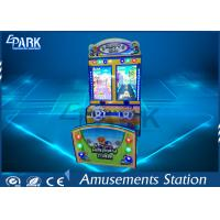 Quality 3D Scene Racing Game Machine With Double Cartoon Car L1550 * W1200 * H2100 MM for sale