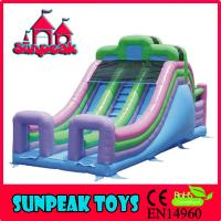 Wholesale SL-310 Inflatable Stair Slide Toys For Sale, Inflatable Slip N Slide For Kids from china suppliers
