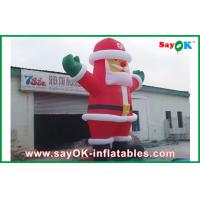 China Santa Claus Inflatable Holiday Decorations on sale