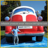Quality advertising inflatable jeep car for promotion exhibition show for sale