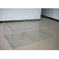Wholesale Galvanized PVC Coated Gabion Wire Mesh Basket Double Twist Hexagonal from china suppliers